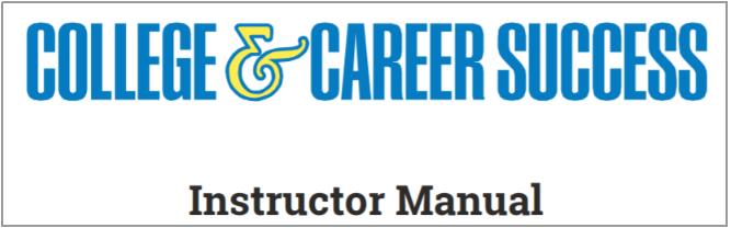 Instructor Manual link